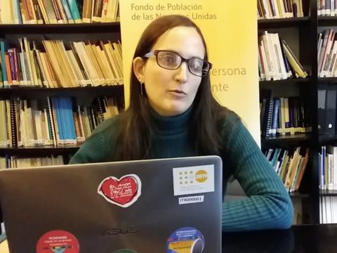 Migración, discapacidad, inclusión y desarrollo: Conocé la historia de Tatiana Vasconcelos